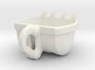 Bulldozer Mug - medium 120ml in White Strong & Flexible