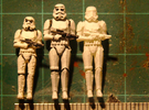 1:72 Stormtrooper in position of Attention - Updat in Frosted Ultra Detail
