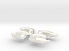 TF4: AOE Beevolution/Stingr kit Missile in White Strong & Flexible Polished