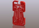 iPhone5_The Chinese Style -- Ancient costume 08 in Red Strong & Flexible Polished