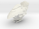 Legion - 001 Head - 02 Tactical Targetting Network in White Strong & Flexible