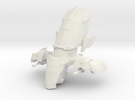 Legion - 001 Head - 01 Energy Parasitic Complex in White Strong & Flexible