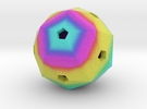 Hollow Blank Rainbow D60 in Full Color Sandstone