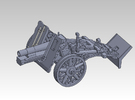 1/87 sIG33 15cm Heavy infantry cannon in Frosted Ultra Detail
