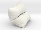 Mini Cushion in White Strong & Flexible