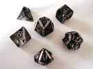 Stretcher Dice Set in Stainless Steel