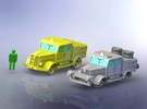 German Faun ZR & ZRS Tractors 1/285 in Frosted Ultra Detail