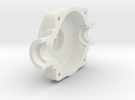 Traxxas EMAXX path trough diff housing first half in White Strong & Flexible