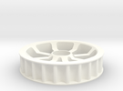 Idler 24T 8P in White Strong & Flexible Polished