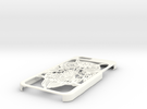 Owl Case - Iphone 6 in White Strong & Flexible Polished