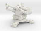 15mm Greenskin AA Turret (x1) in White Strong & Flexible
