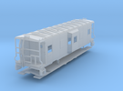 Sou Ry. bay window caboose - mod. Hayne - N scale in Frosted Ultra Detail