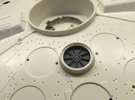 MILLENNIUM FM 1/72 ENGINE FANS SET in Frosted Ultra Detail