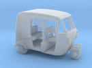 Auto Rickshaw / Tuk Tuk, HO-Scale 1:87 in Frosted Ultra Detail