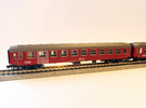 DSB class Bk coach N scale in Frosted Ultra Detail
