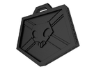 Soul Reaper Badge in Black Strong & Flexible