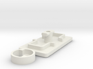 IIgs Port Cover (29mm) in White Strong & Flexible