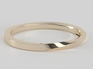 Half Twist Band size 6 in 14k Rose Gold Plated