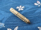 "1/4"" Hex Bit Pen 04 in Raw Brass"