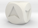 Directional Dice in White Strong & Flexible