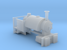 009 Industrial Bagnall Body (4mm scale) in Frosted Ultra Detail
