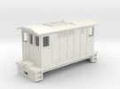 "HOn30 Boxcab Locomotive (""Maud"" V2) in White Strong & Flexible"