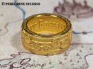 Ring - New Wave Bossa Nova (Size 13) in Stainless Steel