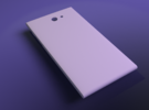 The Other Side for Jolla phone - Thicker in White Strong & Flexible Polished