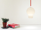 Upside Down Lamp in White Strong & Flexible
