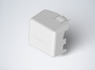 DJI Phantom Cable Guides Battery Door Upgrade in White Strong & Flexible