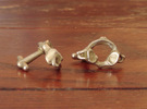 Atlas Vertebra (C1) Cufflinks in Stainless Steel