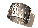 Double-Crossed Cuff in Stainless Steel