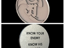 Alex and Ryan Design LLC. Challenge Coin  in Stainless Steel