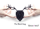 The Stag Mini Faux Taxidermy in Black Strong & Flexible