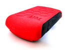 Protective Cover for OmniPod PDM -PDM with Skin in Red Strong & Flexible Polished