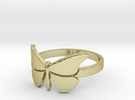 Butterfly (large) Ring Size 10 in 18k Gold