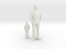 Architectural Man - 1:50 + 1:100 - Standing in White Strong & Flexible