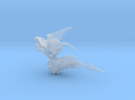 SMALL Flying Rat 2 in Frosted Ultra Detail