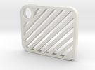 Flash Cover Slatted in White Strong & Flexible