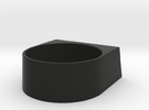 block Ring 20 in Black Strong & Flexible