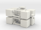 mini 1x2x5 in White Strong & Flexible
