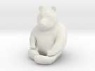 Panda Statuette in White Strong & Flexible