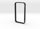 iphone4 bumper MG02 in Black Strong & Flexible