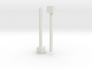 1x1x� (Print 1) in White Strong & Flexible