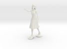 Artist Figurine in White Strong & Flexible