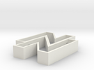 Sebo Cookie Cutter part 1 in White Strong & Flexible