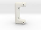 Crashbar Holder JABBER 2010.2 in White Strong & Flexible