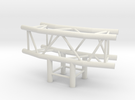 Square Truss L150+L90 1.10 in White Strong & Flexible