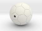 Soccer Ball in White Strong & Flexible