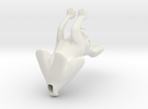miniature boxing hare in White Strong & Flexible